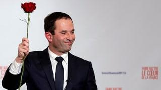 Benoît Hamon siegt bei der Stichwahl der Sozialisten