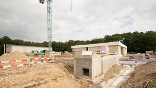 IWB bauen in den Langen Erlen eine neue Pumpstation