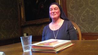 Schwester Benedikta wird Einsiedlerin in der Verenaschlucht