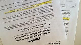 San Murezzan - petiziun per duvrar localitads da vischnanca
