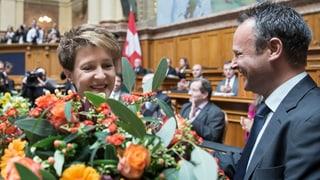 Simonetta Sommaruga zur Bundespräsidentin gewählt