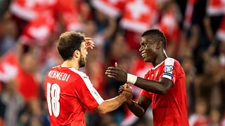 Mehmedi und Embolo treffen: Die Schweiz schlägt den Europameister