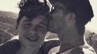 David Beckham: Liebeserklärung an seinen Sohn