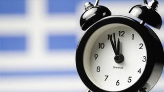 Der Countdown für Griechenland läuft