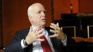 McCain spricht sich für Luftangriffe auf Assads Truppen aus