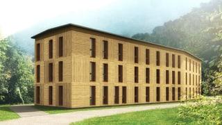 Baukonzern Implenia baut in Graubünden ein Aufnahmezentrum