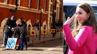 Parkverbot vor Klinik ausgeweitet: Kommt Kates Baby erst im Mai?