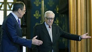 Syrien-Vermittler Brahimi will Russland überzeugen