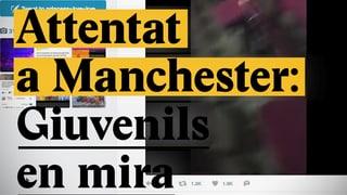 Laschar ir Video «Attentat a Manchester: Giuvenils en mira»