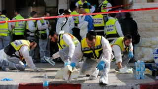 Tote bei Anschlag auf Synagoge in Jerusalem