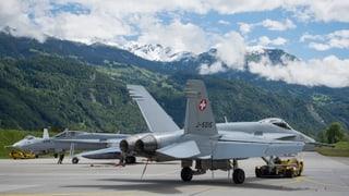 Kampfjets können in Frankreich landen