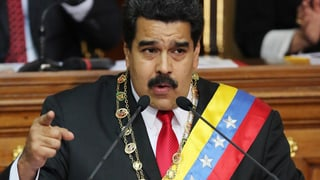 Venezuela starr wie das Kaninchen vor der Schlange