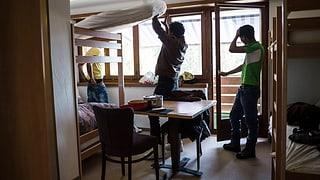 Im Jägerstübli in Brugg wohnen ab Juni 25 Asylsuchende