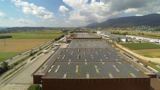 Grösstes Solarkraftwerk der Schweiz in Neuendorf eröffnet