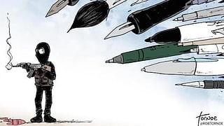 Mit diesen Zeichnungen wehren sich Karikaturisten gegen Terror