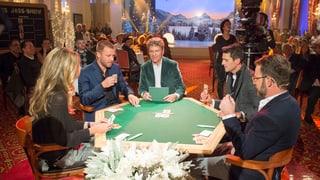 Kilchspergers Jass-Show Das war die «Kilchspergers Jass-Show» vom Kulm Hotel St. Moritz
