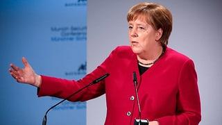 Merkel feuert Kritiksalve gegen Trump (Artikel enthält Video)