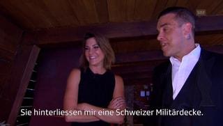 Heisere Annina: Bei Robbie Williams verschlägts ihr die Sprache