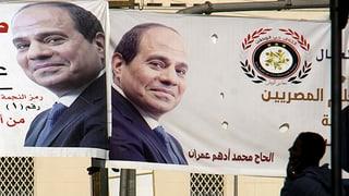 Deutlicher Sieg al-Sisis erwartet