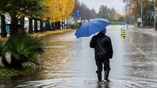 Schlechte Prognosen: Dauerregen bis Donnerstag