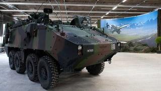 Schweiz exportiert weniger Kriegsmaterial