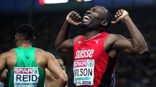 Wilson holt die ersehnte Medaille