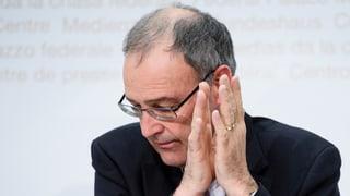 Parmelin: «Igl è stà in sbagl politic»