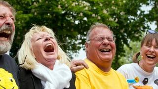 Zürcher sind sehr glücklich – Walliser haben nicht viel zu lachen