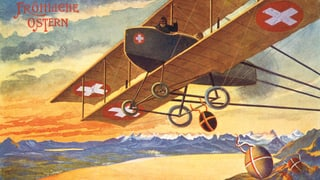 Schöngefärbte Grüsse: Karten aus dem Ersten Weltkrieg