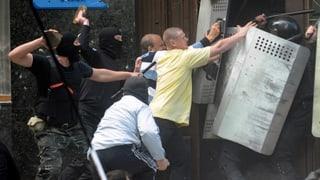 Ukrainische Armee in «voller Kampfbereitschaft»