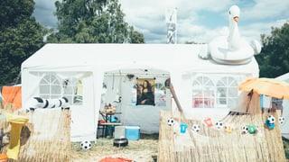 Diese 4 Zeltbauten am Heitere Openair musst du sehen