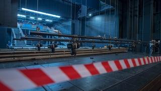 Wegen Umbau kamen weniger Besucher ins Theater Basel