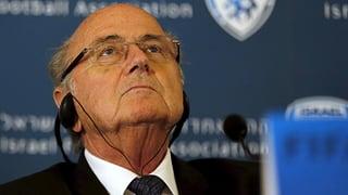 «Unglückliche Ereignisse»: Blatter zeigt Verständnis