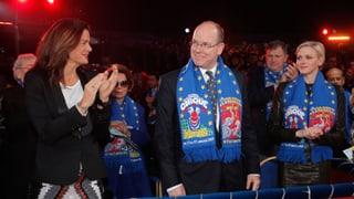 Prinzessin Stéphanie, Fürst Albert und Fürstin Charlène