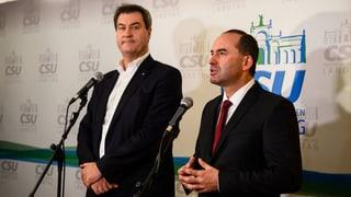 Koalition von CSU und Freien Wählern steht