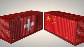 Infografik: So handelt die Schweiz mit China