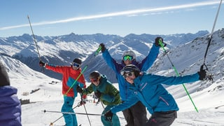 Kunstschnee beglückt Bergbahnen