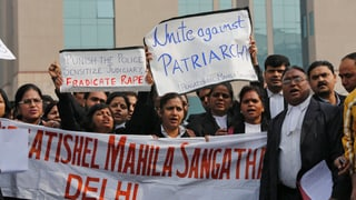 Indien: Anklage gegen die mutmasslichen Vergewaltiger