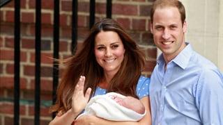 Eine Woche Baby George: England immer noch in Entzücken