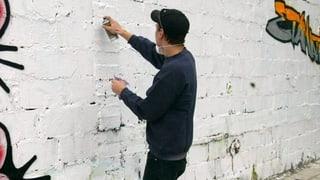 Schweizer Sprayer «Puber» in Wien verhaftet