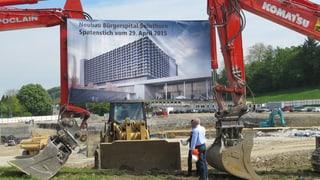 Baustart: Ein Spital für 340 Millionen Franken
