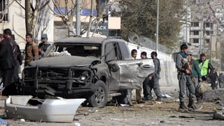 Mindestens drei Tote bei Selbstmordattentat in Kabul