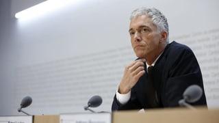 Bundesanwalt Lauber vor entscheidender Woche