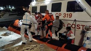 Rettungsschiff «Open Arms» liegt vor Lampedusa