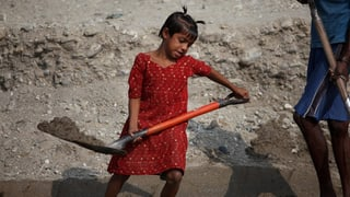 Kinder als Arbeitssklaven