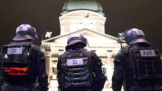 Berner Polizei drückt beide Augen zu