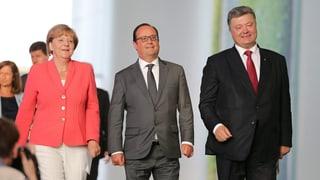 Ukraine-Gipfel bald wieder mit Putin?