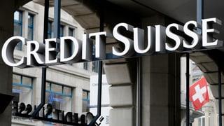 Wie die Nationalbank, so die Credit Suisse