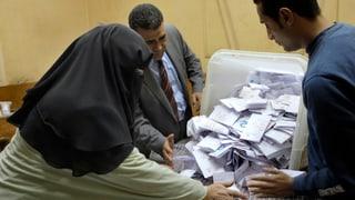 Zwischenstand in Ägypten: Mehrheit für neue Verfassung
