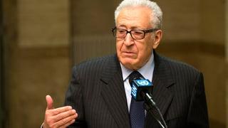 Wieder Gerüchte um Rücktritt des Syrien-Gesandten Brahimi